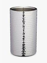 Kitchen Craft Hammered Stainless Steel Wine Cooler