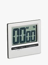 Kitchen Craft Large Easy Read Chromed Digital Timer