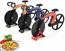 Kitchen Creative Bicycle Shape Pizza Cutter Wheel