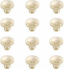 Kitchen Cupboard Door Handles,Golden Simple Brass