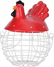 Kitchen Decorations Egg Basket Iron Egg Storage