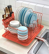 Kitchen Dish Drainer Drying Rack Holder Plates Cup
