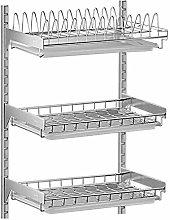 Kitchen Dish Drainer Rack Shelf Dish Drainer Rack