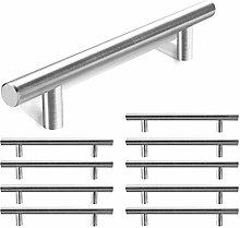 Kitchen Door Handles Brushed Nickel 128mm