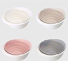 Kitchen Drain Basket Bowl dishwashing Colander