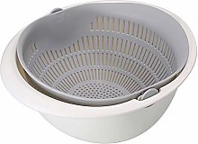 Kitchen Drain Basket Bowl Rice Washing Colander