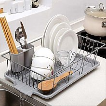 Kitchen Drain Basket Dishware Drain Dish Rack Sink