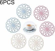 Kitchen-dream 6PCS Multifunctional Round Flower
