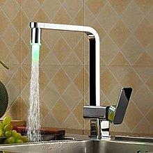 Kitchen Faucet LED Kitchen Faucet Chrome Kitchen