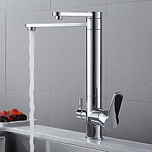 Kitchen Filtered Faucet Copper Sink Tap Water