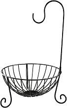 Kitchen Fruit Basket with Detachable Banana Hanger