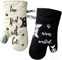 Kitchen gloves Anti heat oven gloves and glove for