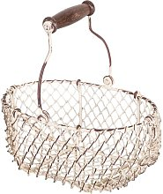 Kitchen Metal Basket Brambly Cottage