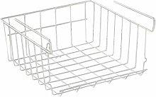 Kitchen metal storage box, storage basket,