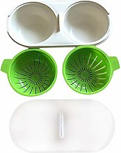 Kitchen Microwave Food Grade Egg Poacher Cookware