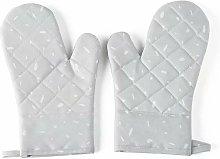 Kitchen Microwave Gloves Anti-Heat Silicone
