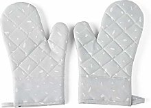 Kitchen Microwave Gloves Home Thickened Silicone