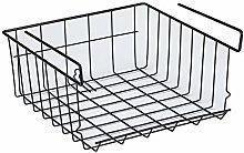 Kitchen Partition Storage Shelf Hanging Basket