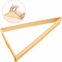 Kitchen Plastic Croissant Cutters Bread Line Mould
