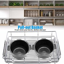 Kitchen Pull-Out Basket Sturdy Reusable 100% Brand