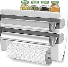 Kitchen Roll Dispenser, Wall Mounted Holder