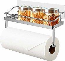 Kitchen Roll Holder Shelf Paper Towel Holder