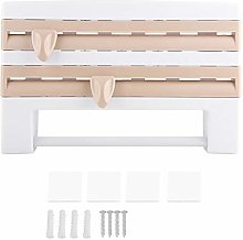 Kitchen Roll Holder, Wall Mounted Dispenser for