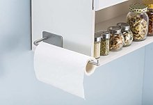 Kitchen Roll Holder Wall Mounted Self Adhesive,