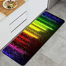 Kitchen Rug,Let's Glow Party Music Dance Disco