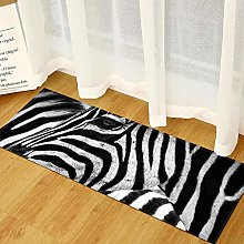 Kitchen Rugs Mats, 7MM Thickness 3D Black And