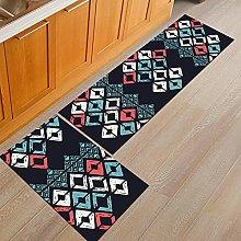 Kitchen Rugs Set - Non-Slip Washable Kitchen Area