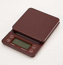 Kitchen Scales 3kg/0.1g Coffee Scale Digital Drip
