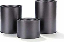 Kitchen Scrub Tea Tins Canister Set for Loose Tea