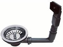 Kitchen sink chrome strainer waste and plug and