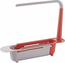 Kitchen Sink Telescopic Drain Shelf Drain Basket