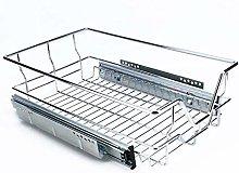 Kitchen Sliding Cabinet Organizer Pull Out Chrome