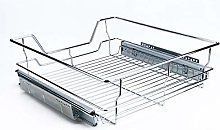 Kitchen Sliding Cabinet, Professional Chromed