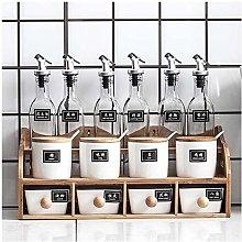 Kitchen Spice Box Seasoning Jar Oil Bottle