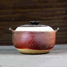 Kitchen Stoneware Casserole Dish with Lid Japanese