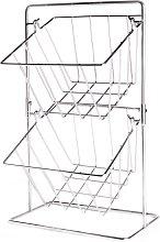 Kitchen Storage Basket | M&W - Chrome