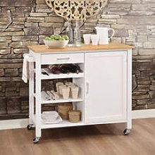 Kitchen Storage Sideboard Trolley Cupboard Shelf