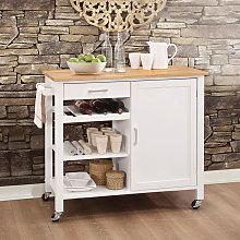 Kitchen Storage Sideboard Trolley Cupboard Shelf
