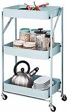 Kitchen Storage Trolley Cart Cart Storage Rack