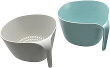 Kitchen Strainer Bowl Sets 2 in 1 Washing