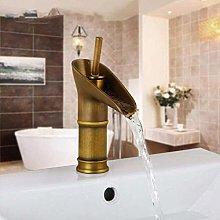 Kitchentap Antique Retro Brass Basin Faucet