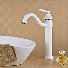 Kitchentap Luxury White Paint Bathroom Faucet
