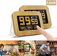Kitchen Timer 2 Pack, Touch Screen Cooking Timer,