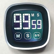 Kitchen Timer Large Electronic Touch Screen LED