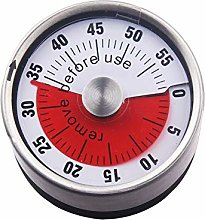 Kitchen Timer, Stainless Steel Timer Mechanical