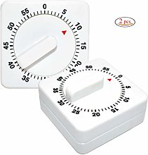 Kitchen Timer,Xiuyer 2 Pieces Novelty 60 Minutes